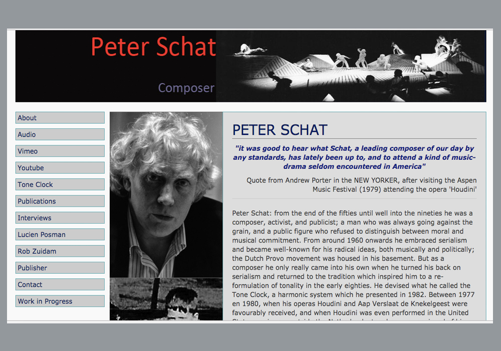 Complete Works, composer Peter Schat. http://peterschat.org